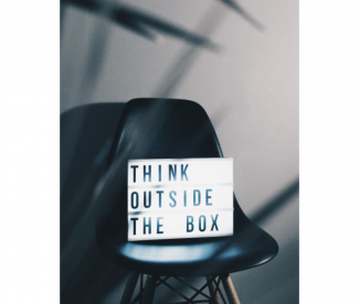Thinking outside the box - Photo by Nikita Kachanovsky on Unsplash